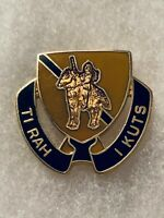 Authentic US Army 167th Cavalry Regiment DI DUI Unit Crest Insignia S-21