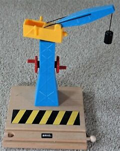 BRIO 33242 TOWER CRANE for Thomas and Friends etc Wooden Road Railway Train Sets