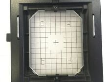 Cambo Legend 4x5 Revolving Back with ground glass grid