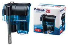 Penn Plax Cascade Mini Hang-on Aquarium Filter with Activated Carbon and Sponge