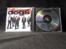 Reservoir Dogs. Film Soundtrack. Compact Disc. 1992. Made In England.