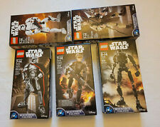 5 Lego Star Wars 75114 / 75119 / 75120 / 75113 / 75118 Open Used for Display