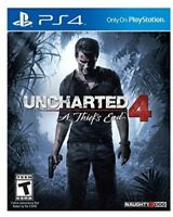 Uncharted 4: A Thief's End for PlayStation 4 [New PS4]