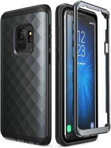 Clayco for Samsung Galaxy S9, Tri-Layer Defense Case Shockproof Shell Hard Cover