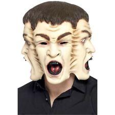 Masques et loups multicolores Smiffys horreur pour déguisements et costumes