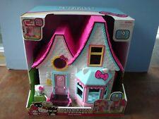 Hello Kitty & Friends 6-Room Dollhouse by Just Play #15911 NIB