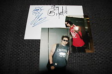 Bullet For My Valentine AUTOGRAPHS ON CARD Drawing + PROOF InPerson