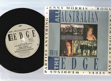 "ALL AUSTRALIAN FROM THE EDGE1989 OZ PROMO 7""33rpm EP RECORD PIC SLV JENNY MORRIS"