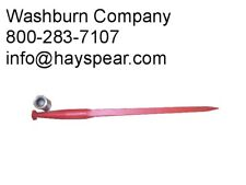 "eGerman Made Conus 2 Square Hay Spear 49"" long, 1 3/4"" dia"