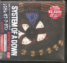 "SYSTEM OF A DOWN ""Hypnotize"" CD+DVD Japan Sample Promo OBI SICP 933-4 2005"