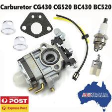 Carburetor For CG430 CG520 BC430 BC520 43cc 52cc Trimmer BrushCutter Carburetor