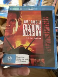 Executive Decision Blu-ray DVD NEW Kurt Russell