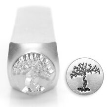 9.5mm Old Tree Jewelry Metal Stamp Punch Jewellery Making Tools Stamping