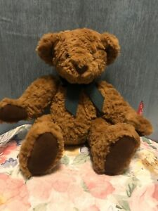 """Russ Berrie """"Chadfield"""" Vintage Edition Collection Teddy Bear 10"""" Sitting Rare"""
