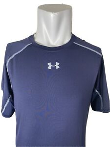 Under Armour Men's Navy HeatGear S/S Compression Shirt - Size 3X-Large (1257468)