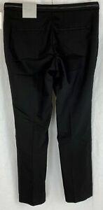 H&M Womens Black Slim Smart Trousers Size 16 NEW