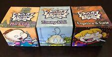 Nickelodeon-Set of 3 Rugrats In Paris Chatback Digital Watches Burger King 2000