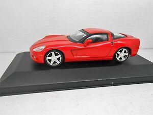 COCHE CHEVROLET CORVETTE Z51 1/43 METAL MODEL CAR 1:43 MINIATURA MINIATURE