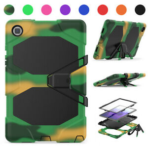 For Samsung Galaxy Tab A 8 8.4 10.1 A7 10.4 Stand Case Cover w/ Screen Protector