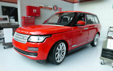 Range Rover L405 TDV8 4.4 V8 Red HSE Vogue Very Detailed Rastar Diecast Model