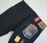 LEVI'S 505 REGULAR FIT WORKWEAR UTILITY PANTS Men's 34, Authentic BRAND NEW