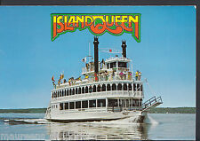 Shipping Transport Postcard - Island Queen Cruise Boat, Kingston, Ontario LC5986