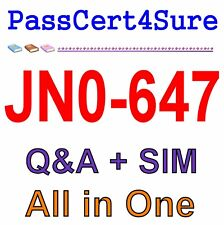 Juniper Enterprise Routing and Switching JN0-647 Exam Q&A+SIM