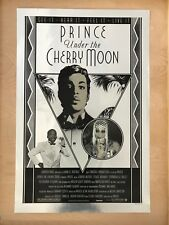 prince under the cherry moon poster