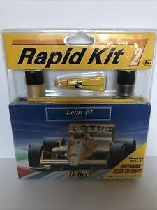 Heller Lotus F1 Rapid Kit 2 Scale 1:43 #79802