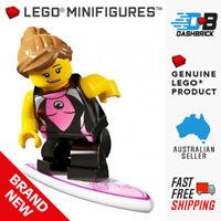 LEGO SET POLYBAG FIGURINE MINIFIG FRIENDS LA PLAGE PLANCHE DE SURF ET CRABE