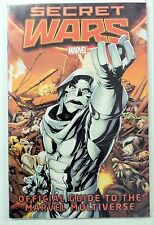 SECRET WARS: OFFICIAL GUIDE TO THE MARVEL MULTIVERSE #1 (2015) HANDBOOK, NM