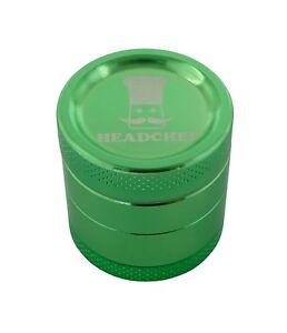 Headchef 30mm 4 piece grinder Green