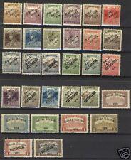 Hungary Banat-Basksa 1919  Scott # 10N2-10N37 MLH Part