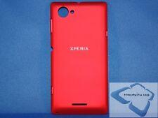 Sony Xperia L C2105 S36H Akku Deckel Back Cover Klappe Schale Original Neu rot