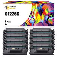 8 Pack CF226X Toner Compatible For HP 26X LaserJet Pro MFP M426dw M402dw M426dw