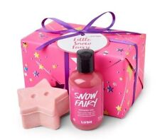 LUSH COSMETICS Little Snow Fairy 2017 GIFT SET Shower Gel/Sparkle Jar NEW BOXED