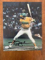 Reggie Jackson Hand Signed Autographed  8x10 Photo W/ MR October Inscription COA