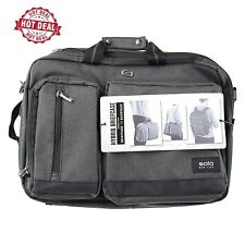 Solo Duane Laptop Briefcase to Backpack Hybrid