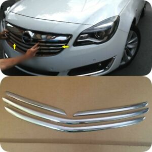2013-2016 Vauxhall Opel INSIGNIA Chrome Front Grill 4Pcs S.STEEL