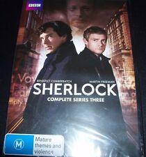 Sherlock Complete Series Season 3 Three (Australia Region 4) DVD – New