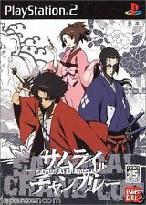 Used PS2 Samurai Champloo  SONY PLAYSTATION 2 JAPAN