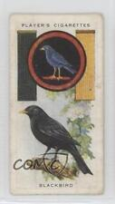 1933 Player's Boy Scout & Girl Guide Tobacco Base #26 Blackbird Card 0w6