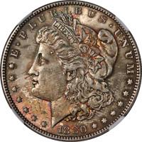 1880-P Morgan Silver Dollar NGC MS63 Decent Eye Appeal Nice Strike