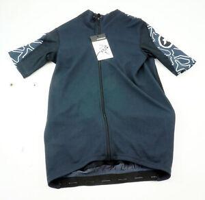 Assos XC Cycling Jersey Men's Medium Short Sleeve Black Full Zipper MTB