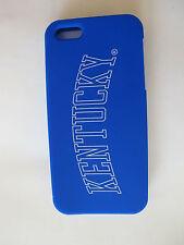 Victoria's Secret PINK iPhone 5 soft rubber case KENTUCKY Blue