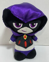 "Funko Stuffed  Raven Teen Titans Go 7"" Purple Black  Plush Toy DC Comics 2017"