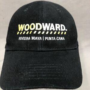WOODWARD RIVIERA MAYA/PUNTA CANA HARD ROCK HOTEL LOGO ADJ STRAPBACK CAP/HAT