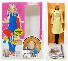 1977 Kenner The Bionic Woman Jamie Sommers Doll In Reproduction Box (3) No.65810