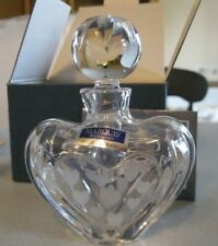 Marquis by Waterford Romance Collection ~ Mini-Heart Perfume Bottle ~ with box