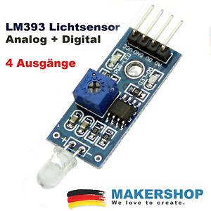 Digital+Analog Licht Sensor Fotowiderstand Modul (analoger) Raspberry Pi Arduino